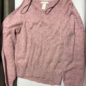 Girls H&M berry sweater